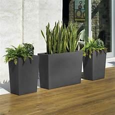 bac pour arbuste de jardin grand bac fleur pour terrasse tout le mat 233 riel pour