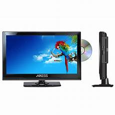axess 13 3 quot class hd 720p led tv with built in dvd