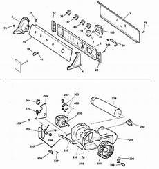 ge electric dryer parts diagram ge electric dryer parts model djsr473et6ww sears partsdirect