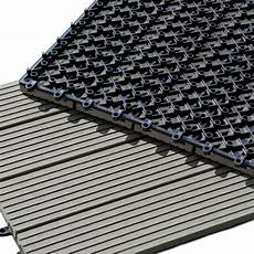 Dalle Terrasse Composite Dalle Terrasse Composite Clipsable Gris 30 X 30 Cm