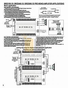 hifonics brutus 1200 wiring diagram