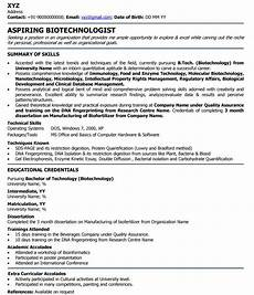 sle resume for internship in biotechnology resume ixiplay
