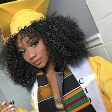 Graduation Hairstyles For Naturally Curly Hair