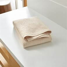 Reversible Green Bath Towels From Crate And Barrel