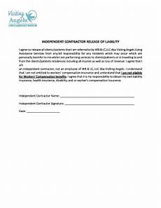 21 printable contractor liability waiver form templates