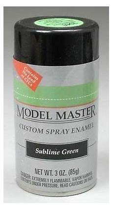 testors master sublime green spray paint can 3 oz