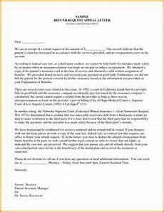appeal letter sle medical claim and insurance form template letter sle medical