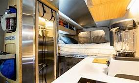 Outside Van's Powerstation Is A Rugged Yet Luxurious Tiny