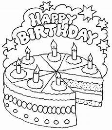 ausmalbilder happy birthday kostenlos malvorlagen zum