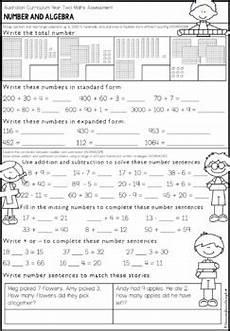 australian curriculum year 2 maths test by