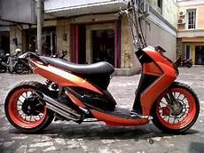Modifikasi Matic by Modifikasi Motor Matic Low Rider Modifikasi Motor Matic