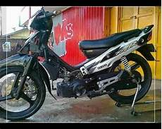 Fiz R Modif Standar by Foto Modifikasi Fiz R Drag Bike Road Race Airbrush Velg