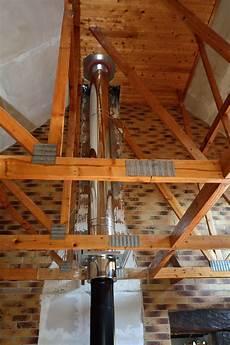 souche de cheminée inox chemin 233 e inox paroi 68 sodielec berger