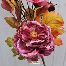 fiori finti fiori finti margaret fucsia autunnali in tessuto lavabile