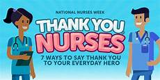 ways to say thank you to on your 7 ways to say thank you to your everyday nurses