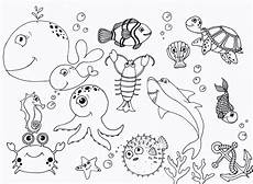 sea animals coloring pages 17500 free printable coloring pages coloring pages the sea themed animal