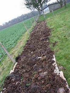 couche de fumier pour jardin en lasagne jardin