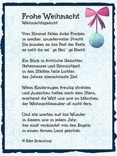 frohe weihnacht kindergedichte weihnachten gedicht
