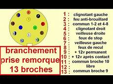 Schema De Branchement Cablage Prise Remorque 13 Broche
