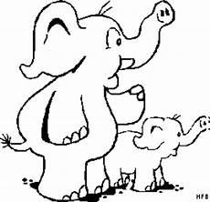 Malvorlagen Elefant Xxi Zwei Elefanten Ausmalbild Malvorlage Comics