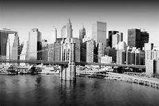 wall glass art new york city black and white buy at
