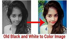 old black and white to colorize photo beginners