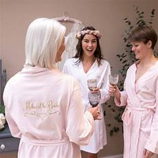 Personalised Dressing Gowns For Weddings
