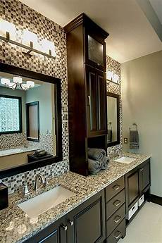 Bathroom Storage Cabinets Masters by Do I Want That Middle Cabinet On The Countertop Modern