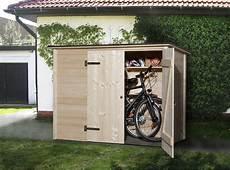 Weka Fahrradbox M 252 Lltonnenbox 367 19mm 219x100cm Bei