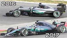 Formula 1 2017 F1 Sound Hamilton Testing New Mercedes