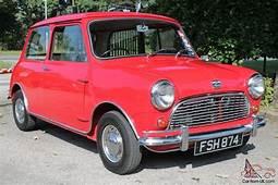 1960 AUSTIN MINI SEVEN TARTAN RED