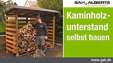 Gah Alberts Workshop Bau Eines Kaminholzunterstands