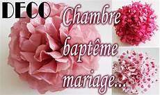 Tuto D 233 Co Clair Fleur Papier Soie Chambre Bapt 234 Me