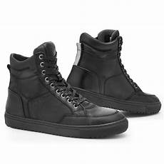 rev it grand herren motorrad sneaker leder city schwarz