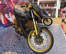 Modifikasi Honda Sonic 150 Terbaru by Foto Modifikasi Honda Sonic 150 R Aliran Road Race Terbaru