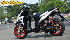 Vario 125 Modifikasi by Modifikasi Honda Vario 125 Fi 2012 Kombinasi Supercharger