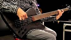 Spector Forte 4x Electric Bass Guitar Matte Black Stain