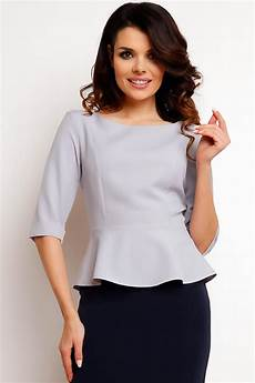 peplum blouse sleeve grey peplum blouse with length sleeves