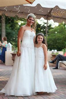 Wedding Dresses With Matching Flower Dress