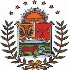 barinas simbolos naturales venezolanidades de a pie bandera himno y escudo del estado barinas