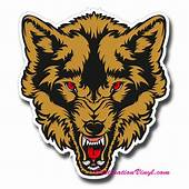 199 GBP  1 X Glossy Vinyl Stickers 15 17Cm Angry