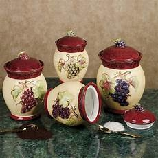 tuscan kitchen canisters 17 best images about kitchen grapes wine on