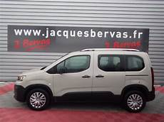 Peugeot Rifter Occasion Diesel Gris 2019 224 Rennes En