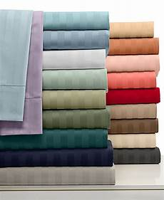 1000 thread count cotton 3 pc fitted sheet all striped colors sizes ebay