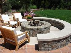 Design Feuerstelle Garten - outdoor pit design ideas landscaping network