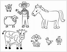 Ausmalbilder Haustiere Bauernhof Ausmalbilder Haustiere Zum Ausdrucken