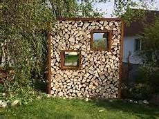 Holzstapel Am Haus - bildergebnis f 252 r sichtschutz mit brennholz garten