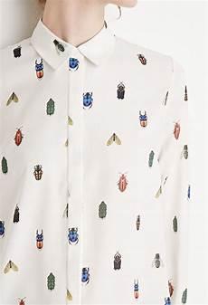 bug print blouse bug print shirt forever 21 2000172202 my sweet