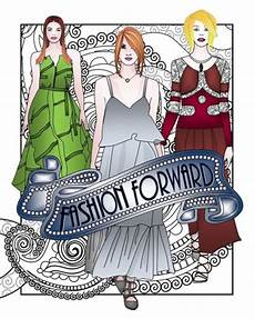 fashion forward adult coloring book adult coloring book