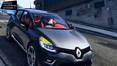 renault clio 4 facelift top speed test gta mod future